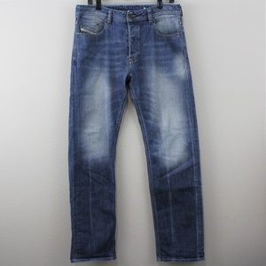 Diesel Larkee Relaxed Straight Jeans M293